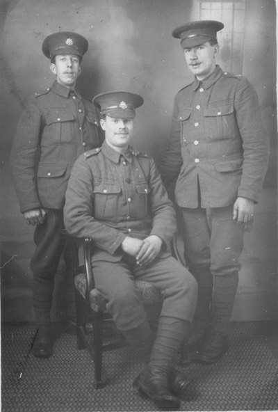 3-soldiers-Fred-Horsnell-seated