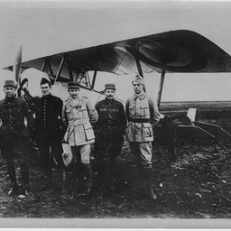 American pilots of the 'Escadrille Americaine' with French air force, before US joined the war - all pilots KIA