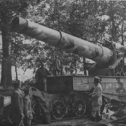 French artillery, Somme 1916