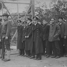 German prisoners from U58 at Fort McPherson POW camp, GA (2 of 3)